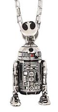Star Wars Shadow Series R2d2 Silver Pendant (C: 1-1-2)