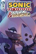 Sonic The Hedgehog Tangle & Whisper #3 (of 4) Cvr A Stanley