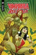 Red Sonja Vampirella #1 Cvr B Tedesco