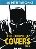 DC Comics Detective Comics Comp Covers Mini HC Vol 03 (C: 0-