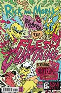 Rick And Morty Present Flesh Curtains #1 Cvr B Enger
