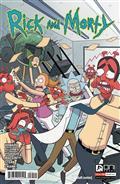 Rick & Morty #54 Cvr A Ellerby (C: 1-0-0)