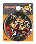 Aggretsuko Rock Out Button Pin (C: 1-1-2)