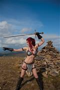 Red Sonja #19 Cvr E Decobray Cosplay