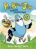 PEA-BEE-JAY-YR-HC-GN-VOL-01-STUCK-TOGETHER-(C-0-1-1)