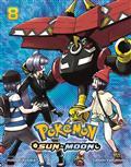 Pokemon Sun & Moon GN Vol 08 (C: 1-1-2)
