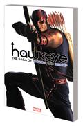 Hawkeye By Fraction Aja TP Saga Barton Bishop Ross Cvr