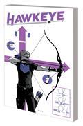 Hawkeye By Fraction Aja TP Saga Barton Bishop Aja Dm Var