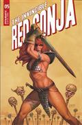 Invincible Red Sonja #5 Cvr B Linsner