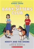 BABY-SITTERS-CLUB-COLOR-ED-GN-HC-VOL-10-KRISTY-AND-SNOBS-(C