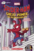 SPIDER-HAM-GREAT-POWER-NO-RESPONSIBILITY-GN-(C-0-1-0)