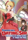 Trapped In Dating Sim World Otome Games Novel SC Vol 03 (C: