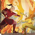 Avatar The Last Airbender Stretched Canvas Wall Art (C: 1-1-