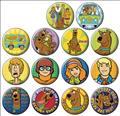 Scooby Doo 144Pc Button Asst Dis (C: 1-1-2)