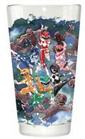 Power Rangers Ranger Watercolor PX Pint Glass (C: 1-1-2)
