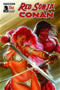 Red Sonja Conan #1 (of 4) Cvr A Ross *Special Discount*