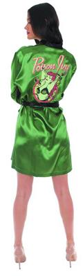 DC Bombshells Poison Ivy PX Satin Robe Sm/Med (O/A) (C: 1-1-