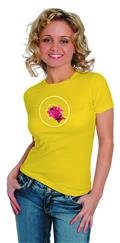 Batgirl Eliminate Womens T/S Lg (C: 1-1-0)