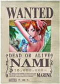 One Piece Nami Wanted Wall Scroll (C: 0-1-2)