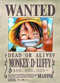 One Piece Luffy Wanted Wall Scroll (C: 0-1-2)