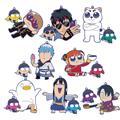 Gintama Okawa Bukubu Osyanty Rubber Mascot Box Set (C: 1-1-2