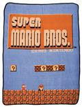 Nintendo Super Mario Bros Throw Blanket (C: 1-0-2)