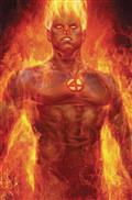 Fantastic Four #1 Artgerm Human Torch Var