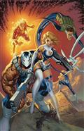 Weapon H #6 J Scott Campbell Return of Fantastic Four Var