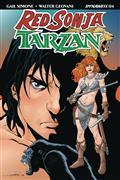 Red Sonja Tarzan #4 Cvr A Lopresti