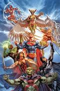 Justice League #30 Card Stock Var Ed Yotv Dark Gifts