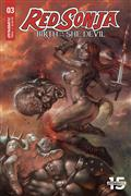 Red Sonja Birth of She Devil #3 Cvr A Parrillo