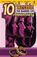 Archie Married Life 10 Years Later #1 Cvr C Francavilla