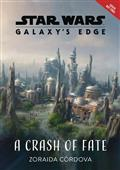 STAR-WARS-GALAXYS-EDGE-HC-NOVEL-CRASH-OF-FATE-(C-0-1-0)