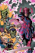 DF History of Marvel Universe #1 Sgn Waid