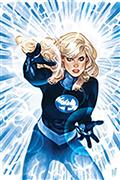 DF Invisible Woman #1 Gold Sgn Adam Hughes