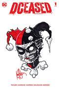 DF Dceased #1 Sgn Rmrk Haeser Harley Quinn Sketch