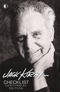 JACK-KIRBY-CHECKLIST-CENTENNIAL-LTD-ED-HC