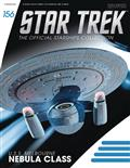 Star Trek Starships Fig Mag #156 Uss Melbourne Nebula Class
