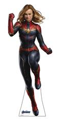 Avengers Endgame Captain Marvel Life-Size Stand Up (C: 1-1-2