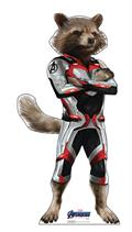 Avengers Endgame Rocket Racoon Life-Size Stand Up (C: 1-1-2)