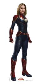 Captain Marvel Life-Size Stand Up (C: 1-1-2)