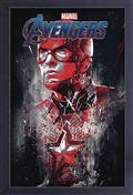 Avengers Endgame Captain America 11X17 Framed Gel Print (C: