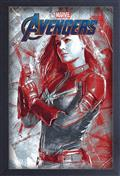 Avengers Endgame Captain Marvel 11X17 Framed Gel Print (C: 1