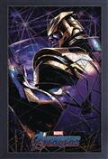 Avengers Endgame Thanos 11X17 Framed Gel Coat Print (C: 1-1-