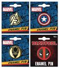 Marvel Comics Enamel Pin 12Ct Asst (C: 1-1-1)