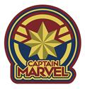 Captain Marvel Logo Soft Touch Pvc Magnet (C: 1-1-2)