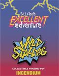 Bill And Teds Excellent Adventure Wyld Stallyns Lapel Pin (C