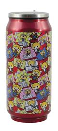 Aggretsuko Pink All Over Print Beer Can Bottle