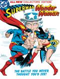 Superman vs Wonder Woman Tabloid Ed HC