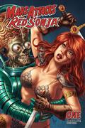 Mars Attacks Red Sonja #1 10 Copy Quah Card Homage Incv